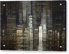 City Tetris Acrylic Print