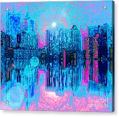 City Twilight Acrylic Print