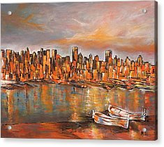 City View Acrylic Print