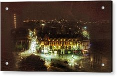 Acrylic Print featuring the photograph Citylife by Isabella F Abbie Shores FRSA