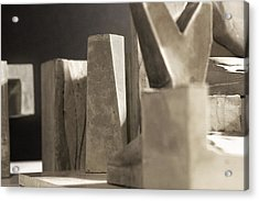 Cityscape 17 Acrylic Print by David Umemoto