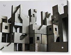 Cityscape 3 Acrylic Print by David Umemoto