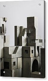 Cityscape 4 Acrylic Print by David Umemoto