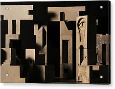 Cityscape 7 Acrylic Print by David Umemoto