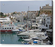 Ciutadella Marina Acrylic Print by Rod Johnson