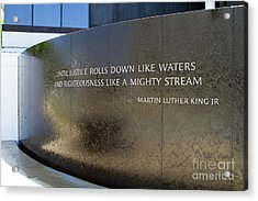 Civil Rights Memorial Acrylic Print
