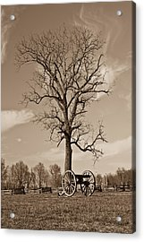 Civil War Cannon Acrylic Print