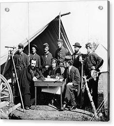 Civil War: Engineers, 1862 Acrylic Print