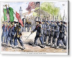 Civil War: Garibaldi Guard Acrylic Print by Granger
