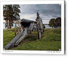 Acrylic Print featuring the photograph Civil War Rifle by Richard Bean