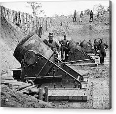 Civil War: Union Mortars Acrylic Print