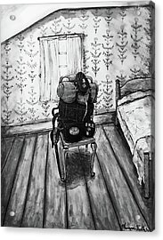 Rhode Island Civil War, Vacant Chair Acrylic Print