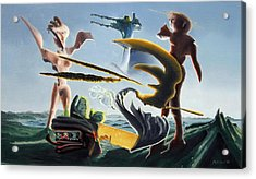 Civilization Found Intact Acrylic Print by Dave Martsolf