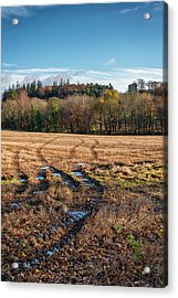 Acrylic Print featuring the photograph Clackmannan Tower In Central Scotland by Jeremy Lavender Photography