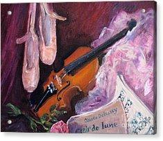 Clair De Lune Acrylic Print by B Rossitto