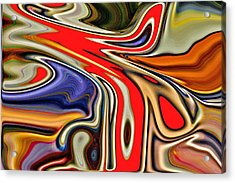 Clamor Acrylic Print by Nick David