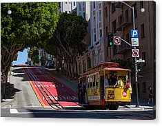 Clang Clang Goes The Cable Car Acrylic Print