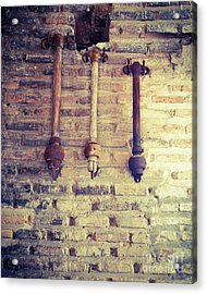 Clappers Acrylic Print