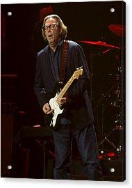 Clapton Emotion Acrylic Print by Steven Sachs