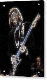 Clapton Acrylic Print by Kenneth Armand Johnson