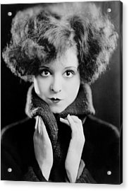 Clara Bow, Ca. 1924 Acrylic Print by Everett