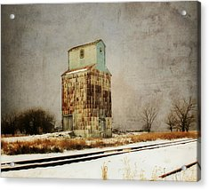 Acrylic Print featuring the photograph Clare Elevator by Julie Hamilton