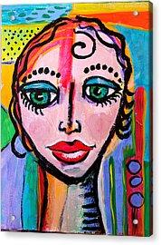 Clarissa - Vivid Vixen 3 Acrylic Print