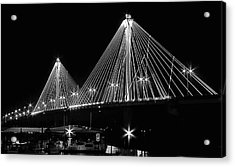Clark Bridge Night Acrylic Print