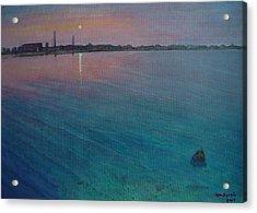 Clark Cove Acrylic Print by Ron Sylvia