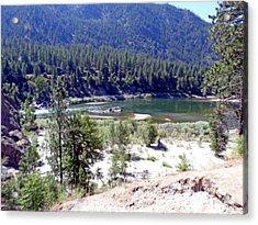 Clark Fork River Missoula Montana Acrylic Print