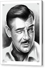 Clark Gable 26aug17 Acrylic Print
