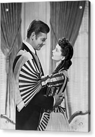 Clark Gable And Vivien Leigh Acrylic Print