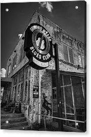 Clarksdale - Ground Zero Blues Club 001 Bw Acrylic Print