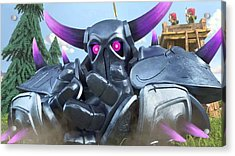 Clash Of Clans Hack Acrylic Print by Coc Hack
