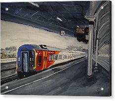 Class 159 Bristol Temple Meads Acrylic Print