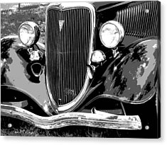 Classic 2 Acrylic Print by Audrey Venute