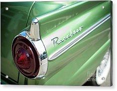 Classic 50s Ford Ranchero Acrylic Print