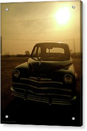 Acrylic Print featuring the photograph Classic America, Eight by Iconic Images Art Gallery David Pucciarelli