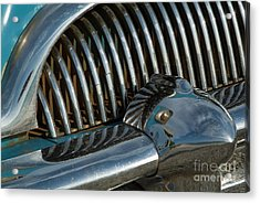 Classic American Car Bumper Acrylic Print by Sami Sarkis