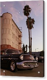 Classic At Sunset Acrylic Print by Lawrence Costales