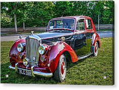 Classic Bentley In Red Acrylic Print