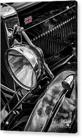 Acrylic Print featuring the photograph Classic Britsh Mg by Adrian Evans