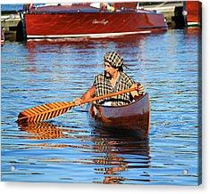 Classic Canoe Acrylic Print