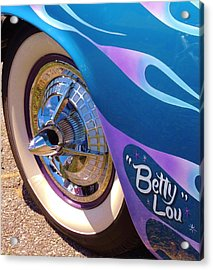 Classic Car Betty Lou Acrylic Print