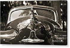 Classic Car Detail - Dodge 1948 Acrylic Print