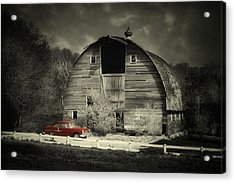 Acrylic Print featuring the photograph Classic Chevrolet  by Julie Hamilton