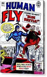 Classic Comic Book Cover - Human Fly - 0118 Acrylic Print