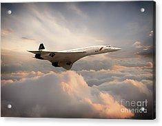 Classic Concorde Acrylic Print