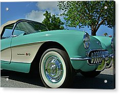 Classic Corvette Acrylic Print