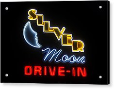 Classic Drive In Acrylic Print by David Lee Thompson